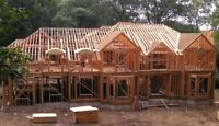 Carpenter Framers Available For Custom and Builder Homes.