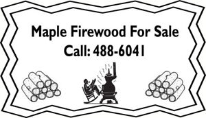 Maple Firewood for Sale