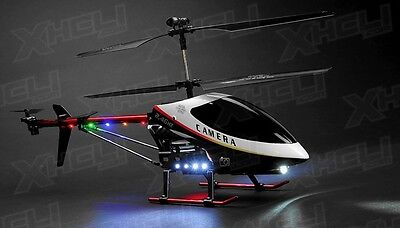 """UDI U12A RC 3 Channel Large Scale 30"""" Metal RC Helicopter Electric w/Camera"""