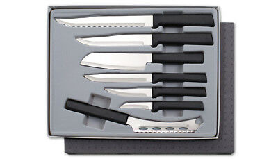 Rada Starter Sets of  Kitchen Knives in Boxes 2 Sets plus Sharpener 15 Pcs
