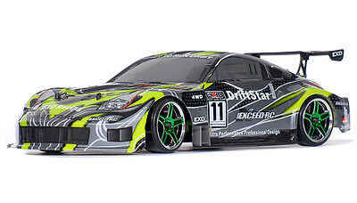 1/10 2.4Ghz Exceed RC Drift Star RTR Electric Car 350Z Brushed Version GREEN (Rtr 1 10 Electric Rc Drift Car)