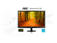 "22"" AOC Value-line LED Monitor"