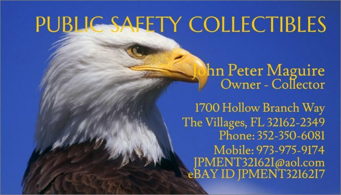 PUBLIC SAFETY COLLECTIBLES