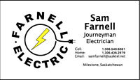 Electrician Available Now