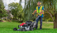 Lawn mowing 30% off