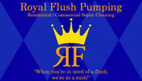 Royal Flush Pumping  Septic Cleaning  24hr Emergency Service