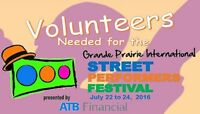 Volunteers Needed for the 16th Annual Street Performers Festival