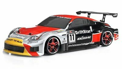 1/10 2.4Ghz Exceed RC Electric Drift Star RTR Brushed RC Drift Car RED 350 (Rtr 1 10 Electric Rc Drift Car)
