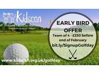 Kidscan Charity Annual Golf Day
