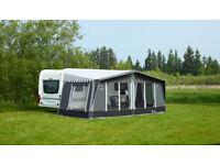 Isabella Capri Coal Caravan Awning Carbon X Frame 825cm 2016 model