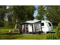 Isabella Magnum Porch awning (coal) + sleep Annex - Isabella 220 Future