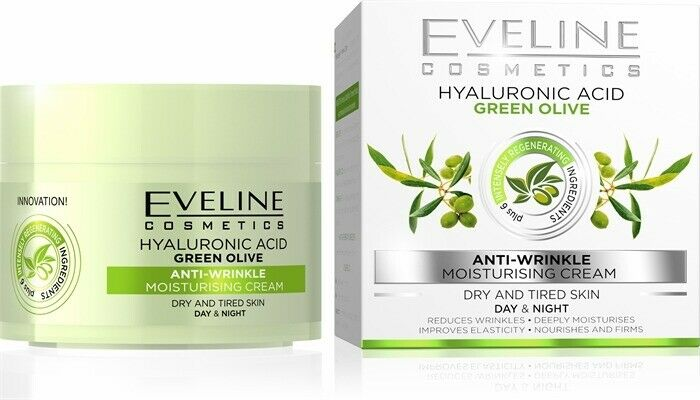 Eveline Green Olive Anti-wrinkle Day&Night Cream with Vitamin C 50ml