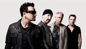 U2 U2 U2 U2!!REDS/ROUGES 118 RANGEE/ROW 'F' U2!!WOW!!!!!