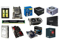 WANTED.!! ANY PC ITEMS PARTS ETC. TOWERS MESSAGE ME