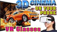 New 3D Virtual Reality VR glasses for smartphone 360 Free Gift Port Macquarie Port Macquarie City Preview