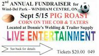 Wind-Del Park Fundraiser, Second Annual