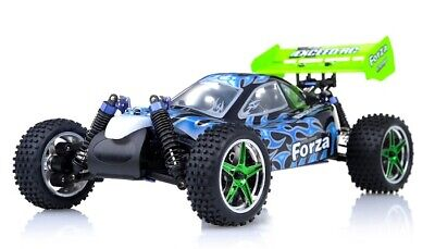 Exceed RC Froza 1/10 Nitro Gas .18 Engine Remote RC RTR Buggy Fire -