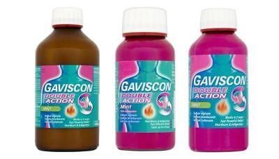 - Gaviscon Double Action Liquid Mint 600ml/300ml/150ml