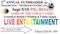 Second Annual Wind-Del Park Fundraiser