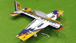 Tech One RC 4Ch Extra 300 Indoor Aerobatic 3D Airplane Kit Needs Motor ESC Servo