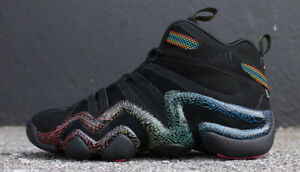 Adidas Crazy 8 basketball - Black Tribal Gradient - Size 8