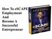 Anik Singal's Employee to Entrepreneur Strategy... Free Book - Open Now!