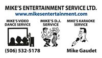 Mike's Entertainment Service Wedding DJ