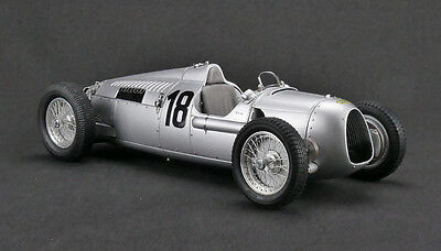 - 1936 AUTO UNION TYPE C #18 EIFEL RACE BERND ROSEMEYER LTD 1500PCS 1/18 CMC 161