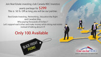 Join Canada REIC Black Friday Promo