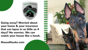 HouseHawks - Keeping your cares at bay while you're away!