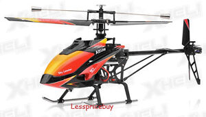 Wltoys V913 Large Alloy 70cm 2.4G 4CH RC Helicopter with Gyro (Sky Dancer)