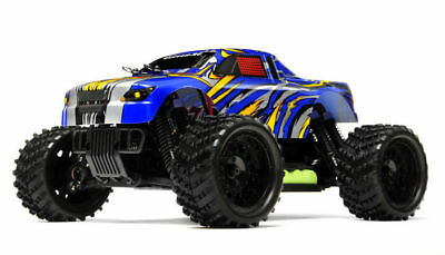 1/16 2.4Ghz Exceed RC Magnet Electric Powered RTR Off Road Truck Stripe Blue NEW ()