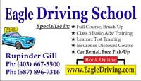 $89 Driving (Eagle Driving School) $449 Full Course