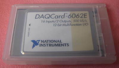 Ni Daqcard-6062e 12-bit Multifunction Io National Instruments Pcmcia 1 Each