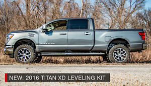 """2"""" 2016 Nissan Titan XD Leveling Lift Kit - BLOWOUT SPECIAL"""