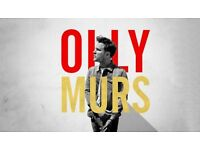 2 x Olly Murs Tickets @ The SSE Hydro on 04 March 2016