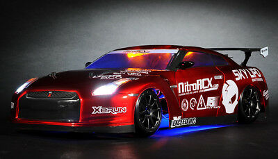 Exceed RC MadSpeed GT-R Drift King Brushless 1/10 Electric RTR LED Radio Car (Rtr 1 10 Electric Rc Drift Car)