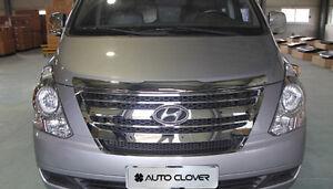 New Chrome Radiator Grille Garnish B223 For Hyundai Grand Starex H1 2007-2015