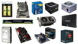 Pc, parts, all in one big bundle