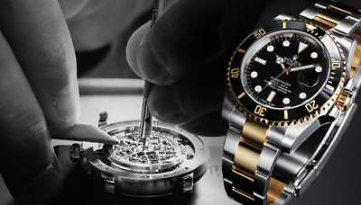 Watch Repair Service For All Major Brands  Rolex Omega Cartier Tag Heuer Etc