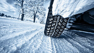 BE CONFIDENT IN WINTER DRIVING. NEW WINTER TIRES SALE!!!