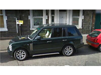 Range Rover Vogue 4.4 V8 Epson Green.