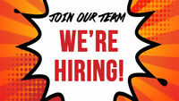 Salary Plus Commissions - Join our team!