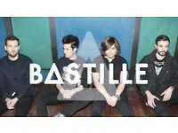 BASTILLE - BLOCK 112 ROW W SEATED - O2 ARENA - WEDS 02/11 - £55!
