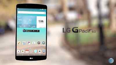 """LG G Pad V495 AT&T Unlocked GSM Android Tablet 16GB 8.0"""" WiFi ****"""