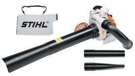 Stihl SH86C petrol garden leaf blower vacuum vac with bag