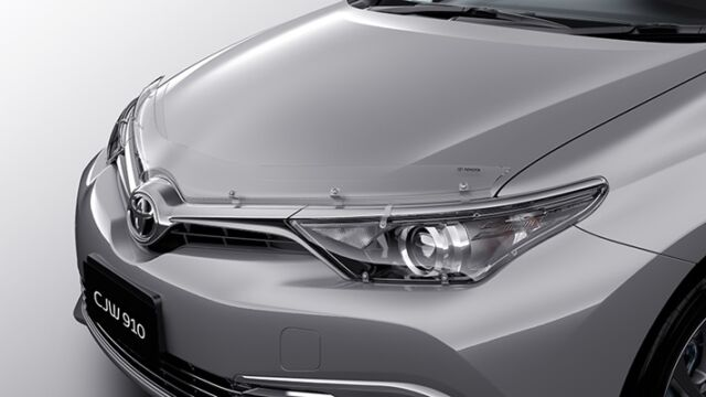 TOYOTA COROLLA BONNET PROTECTOR HATCH FROM MARCH 2015> NEW GENUINE ACCESSORY