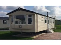 Flamingoland caravan for hire on woodlands