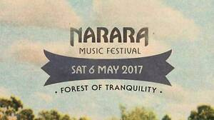 Two Festival Tickets with Camping - Nararra Music Festival 6 MAY Port Macquarie Port Macquarie City Preview