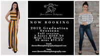 Now Booking Graduation Sessions!